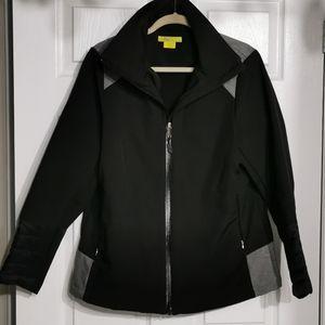 🌺SALE🌺 Plus Size Black Waterproof Sport Jacket